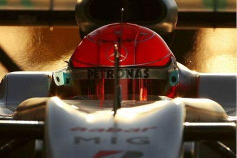 Michael Schumacher braucht nur ein gutes Auto, glaubt Jos Verstappen