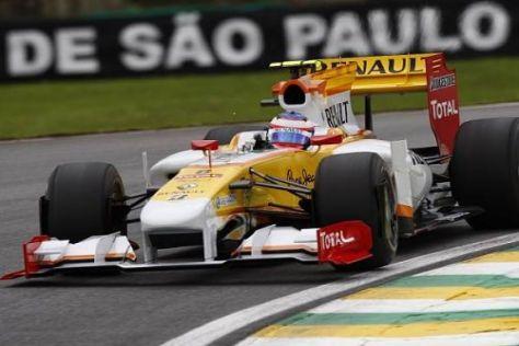 Romain Grosjean stand bereits 2008 und 2009 bei Renault unter Vertrag
