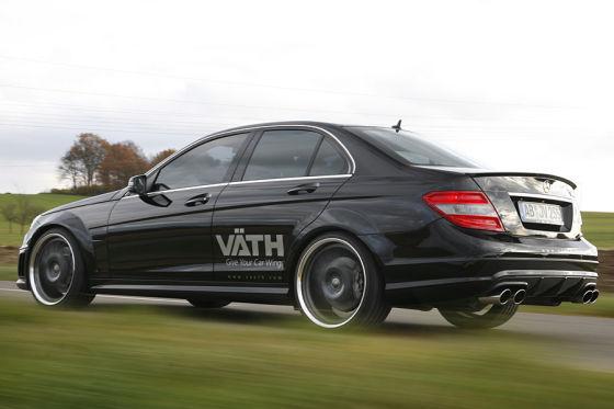 Getunter Mercedes C-Klasse C V25 CGI von Väth