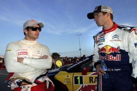 Zwei gleichberechtigte Sébastiens: Loeb und Ogier fahren auch gegeneinander