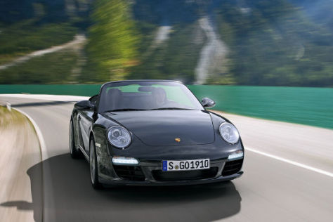Porsche 911 Carrera Cabrio Black Edition
