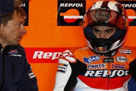 Dani Pedrosa hofft auf Verbesserungen an der Honda RC212V