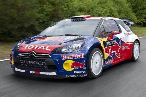 Der DS3 WRC hat in den vergangenen Wochen viele Tests absolviert