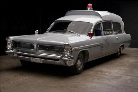 Pontiac Bonneville Ambulance