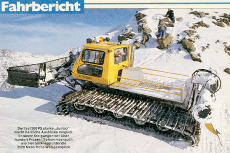 Ski-Dozer BR 1000 Jumbo