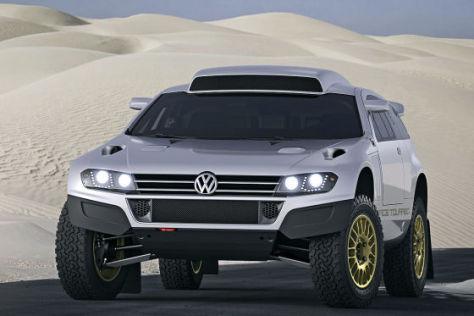 VW Race Touareg als Zivilversion