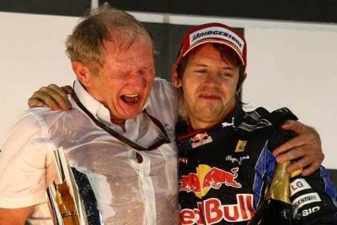 Gut möglich, dass das Erfolgsduo Marko und Vettel auch 2012 vereint bleibt