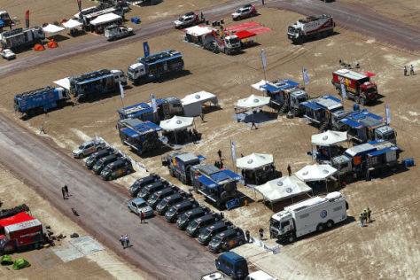 Rallye Dakar 2011 Logistik