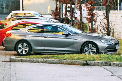 BMW 6er Coupé erstmals ungetarnt