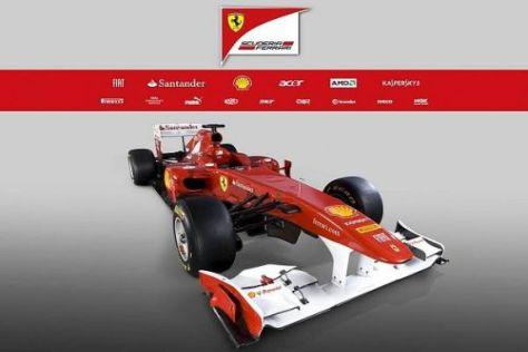 Mit dem Ferrari F150 wollen die Italiener endlich wieder die Titel gewinnen