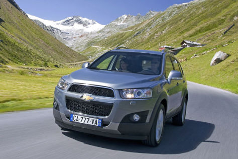 Chevrolet Captiva Facelift (2011)