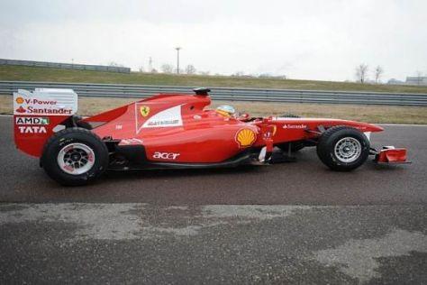Die Aerodynamik der Ferrari-Rennwagen entsteht zum Teil im Toyota-Windkanal