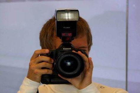 Sebastian Vettel wird sich nun ein Bild von den Konkurrenzautos machen können