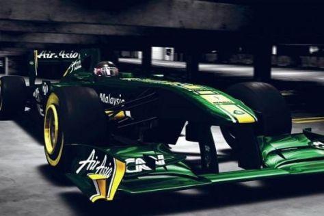 Der neue Lotus T128 soll das malaysische Team nach vorne bringen
