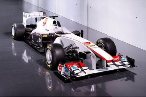 Der Sauber-Ferrari C30 verfügt über mehr Sponsoren als das 2010er-Modell
