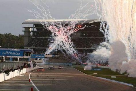 Feuerwerk im Motodrom: 2011 könnte das DTM-Finale wieder in Hockenheim sein