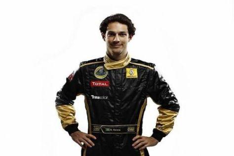 Bruno Senna bedeuten die Farben seines neuen Overalls sehr viel
