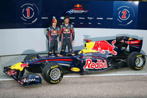 Red Bull Rb7 Formel 1 Saison 2011 Autobild De