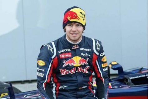 Sebastian Vettel dreht heute seine ersten Runden mit dem neuen RB7