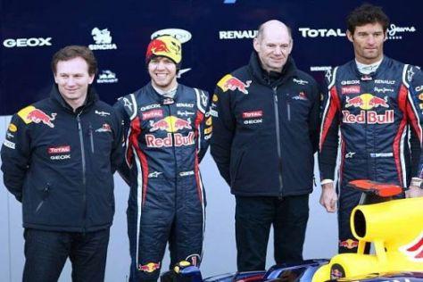 Christian Horner und Red Bull wollen sich langfristig ganz vorn etablieren