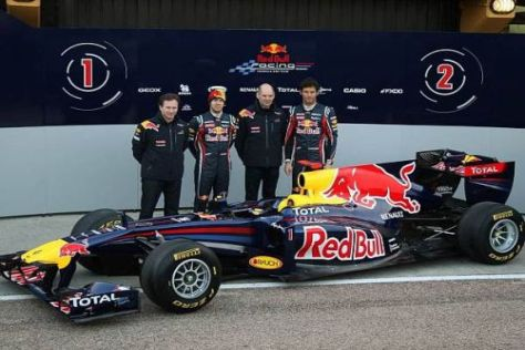 Der Red Bull RB7 - das achte Weltmeisterauto aus der Feder Neweys?