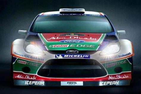 In gut einer Woche wird es ernst für Ford und den Fiesta RS WRC