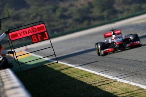 Gary Paffett probierte am Dienstag sämtliche Pirelli-Reifenmischungen aus