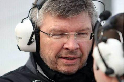 Mercedes-Teamchef Ross Brawn ist zu einem echten KERS-Fan geworden