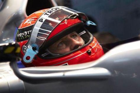 Michael Schumacher riecht Lunte und tritt selbstbewusster auf als Ende 2010