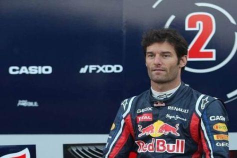 Mark Webber vor der neuen Saison: In diesem steht die Nummer zwei sogar dran