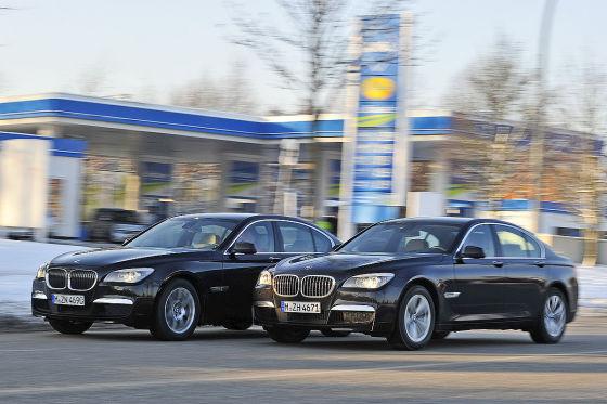 BMW 7er Im Verbrauchstest Diesel Gegen Benziner