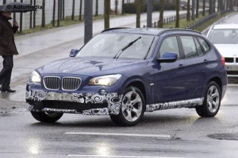 Erlkönig BMW X1 M-Paket