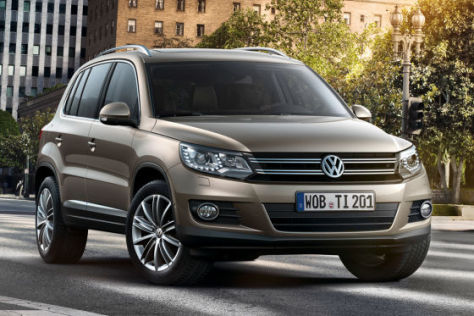 preis und fotos vom vw tiguan facelift. Black Bedroom Furniture Sets. Home Design Ideas