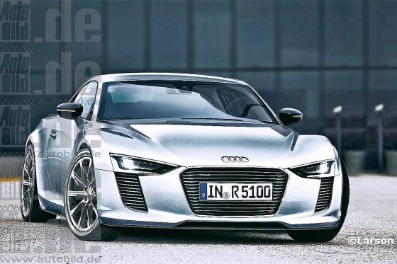 Audi R5 Illustration