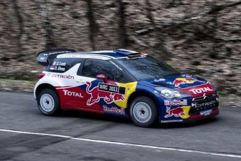 Der neue Citroen DS3 WRC gibt in Schweden sein Wettbewerbsdebüt