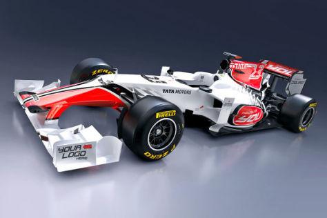Formel 1 2011: HRT F111