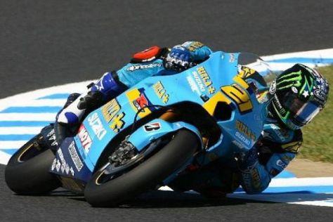 John Hopkins startete zuletzt 2007 für das Suzuki-MotoGP-Team