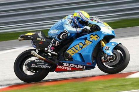 Bei Suzuki konzentriert sich alles auf den Spanier Alvaro Bautista