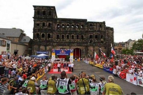 Im August gibt die WRC wieder rund um die Porta Nigra Gas