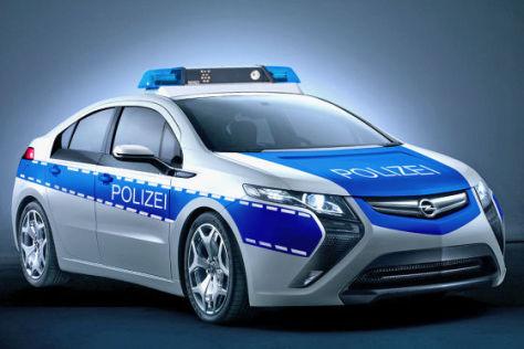 Opel Ampera Polizeiauto