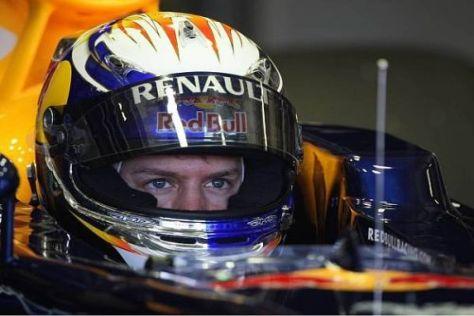 Sebastian Vettel macht sich wegen des sechsten Platzes heute keine Sorgen