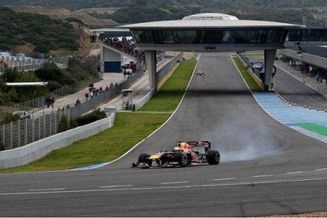 Sebastian Vettel zeigte heute nicht den von Red Bull erwarteten Speed