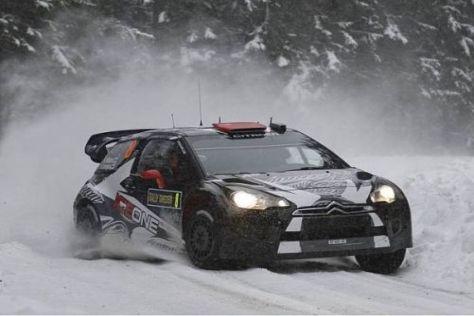 Kimi Räikkönen kam in Schweden heil ins Ziel und wurde Achter