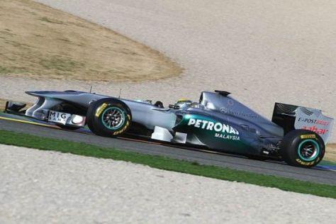 Aufwärtstrend bei Silber? Nico Rosberg sieht sein Team auf einem guten Weg