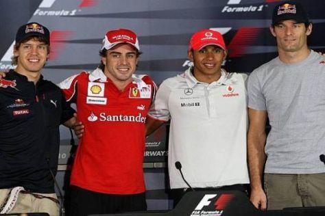 Seine Rivalen haben Fernando Alonso 2010 das Leben schwer gemacht