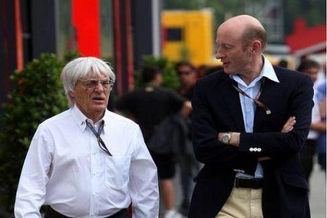 Bernie Ecclestone und CVC-Boss Donald Mackenzie ziehen die Formel-1-Fäden