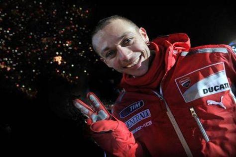 Alles Gute zum Geburtstag: Valentino Rossi wird heute 32 Jahre alt