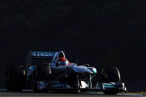 Laut Teamchef Ross Brawn könnte Michael Schumacher 2011 durchaus überraschen
