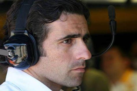 Sofern der Kalender es zulässt, schaut Franchitti gern bei der Formel 1 vorbei