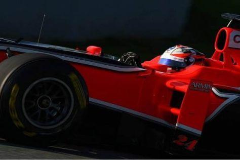 Timo Glock bestreitet 2011 seine zweite Rennsaison für Marussia-Virgin